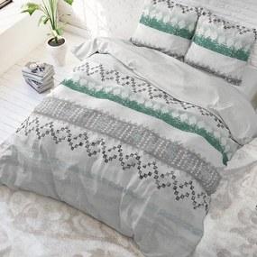 Sleeptime Elegance Scally - Wit 1-persoons (140 x 220 cm + 1 kussensloop)