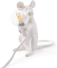 Seletti Mouse Lamp Sitting tafellamp