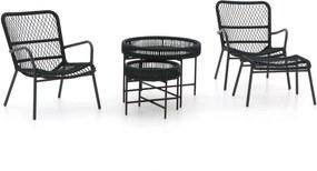 Manifesto Vitaro/Pepoli lounge balkonset 5-delig - Laagste prijsgarantie!