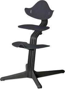 Highchair - Blackstained/Anthracite - Kinderstoelen