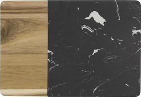 Snijplank 20.8x30x1.5 Marmer/hout