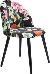 Kare Design Flores Eetstoel Bloemmotief