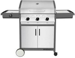 Meridian Stainless Steel 3 side burner