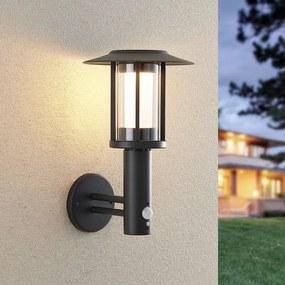 Volki LED-wandlamp op zonne-energie+sensor - lampen-24