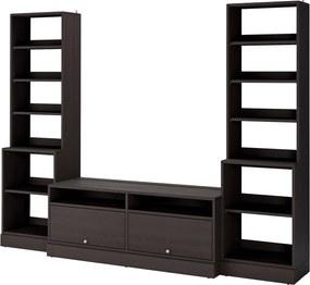 HAVSTA Tv-meubel, combi 282x47x212 cm donkerbruin
