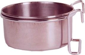 RVS voerbak met houder 9,5 cm - 270 ml
