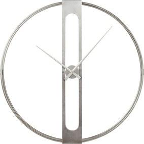 Kare Design Clip Zilveren Wandklok 60 Cm
