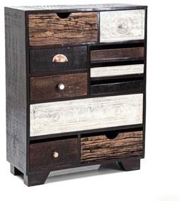 Kare Design Finca Design Ladekast Mangohout 10D - 70x30x90cm.