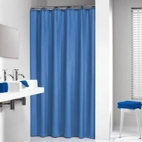 Sealskin Madeira douchegordijn textiel 120x200cm blauw 238501124