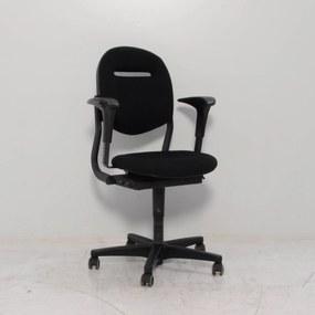 Bureaustoel 220, zwart, 2D armleggers