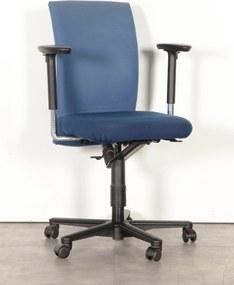Bureaustoel Klöber, blauw, 3D armleggers *ster 2*