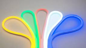 RGB LED Neon Flex 24V, 1 Meter, 8 Watt/meter, Waterdicht IP65