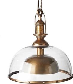 Rivièra Maison - Brooklyn Hanging Lamp - Kleur: brons