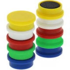 Whiteboard Magneten 20 mm - Assortiment - 10 stuks