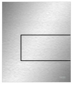 Urinoir Bedieningsplaat TECE Square Metaal RVS Geborsteld 12,4x14,4 cm