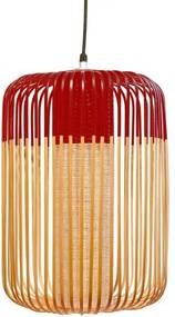 Forestier Forestier Bamboo Light Hanglamp Large Rood