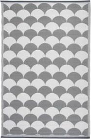 Buitenkleed 180x121 cm grijs en wit OC24
