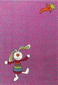 Rainbow Rabbit sk052303 - 133 X 200 - vloerkleed