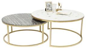 Kare Design Mystic Marmeren Salontafelset