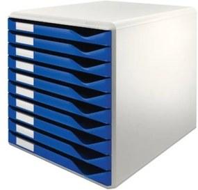 Ladenblok lichtgrijs/blauw