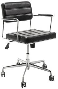 Kare Design Dottore Black Bureaustoel Retro