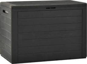 Tuinbox 78x44x55 cm antraciet