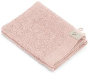 Walra Soft Cotton Washand set van 2 16x21cm 550 g/m2 Roze 1218237