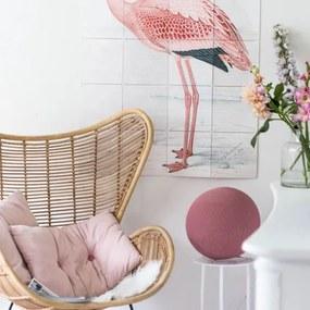 Staande Cottonball - Pale Pink - dia 25cm