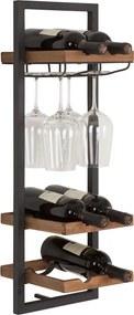 D-Bodhi Winemate Natural Type D Wijnrek Hangend - 25x25x75cm.