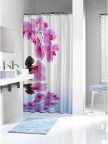 Douchegordijn Textiel Sealskin Spa Polyester Roze 180x200cm