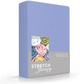Romanette Luxe Jersey Hoeslaken - Lavendel 160/180/200 x 200 cm