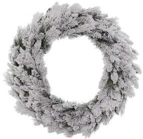 Flocked Fraser Wreath dia. 75 cm