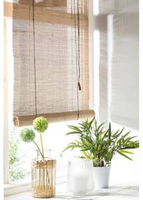 Rolgordijn bamboe - naturel - 60x130 cm