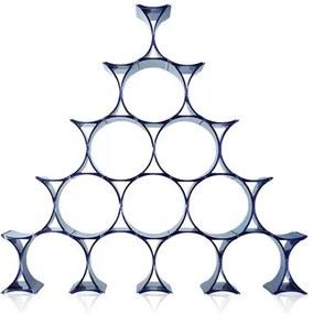 Kartell Infinity wijnrek blauw