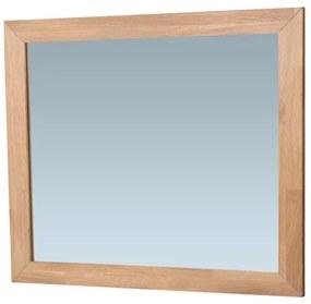 Saniclass Natural Wood spiegel 80x70x1.8cm rechthoek met doorlopend lamel Purple oak 3221PO