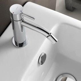 Bidetmengkraan Hotbath Laddy Zonder Waste Geborsteld Nikkel
