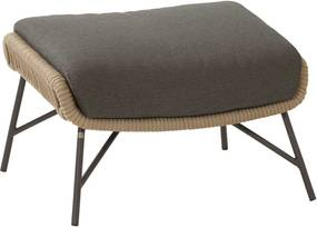 4 Seasons Outdoor Ramblas foostool Taupe with cushion
