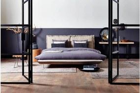 Goossens Gestoffeerd Ledikant Milano, Gestoffeerd ledikant 160 x 200 cm