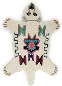 Doing Goods Kasbah Polar Bear Small vloerkleed 100 x 65 cm