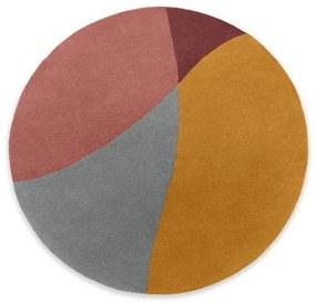 Quad wollen handgetuft vloerkleed, 200 cm, meerkleurig