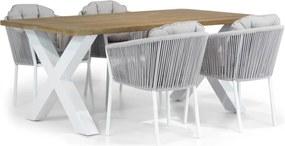 Santika Novita/Cardiff 180 cm dining tuinset 5-delig
