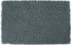 Badmat Differnz Antislip Chenille Micro Fiber Grijs 90x60cm