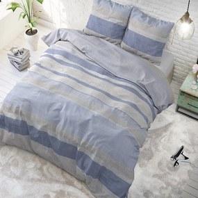 Sleeptime Elegance Dayny Blue 1-persoons (140 x 220 cm + 1 kussensloop) Dekbedovertrek