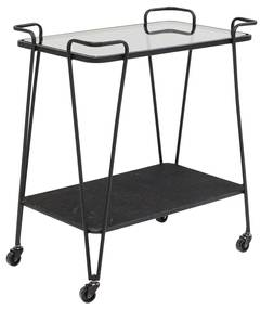 Kare Design Mesh Metalen Trolley - 60 X 38cm.