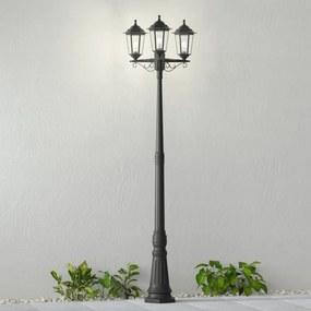 Mastlamp Nane in lantaarnvorm, drie lampjes - lampen-24