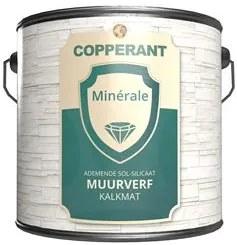 Copperant Minerale Muurverf Kalkmat - Wit - 10 l