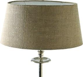 Rivièra Maison - Fabulous Oval Lampshade flax 23.5x33 - Kleur: grijs