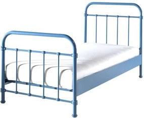 Vipack bed New York - blauw - 90x200 cm - Leen Bakker