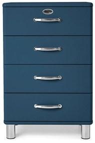 Tenzo Malibu Houten Ladekast Donkerblauw - 60x41x92cm.