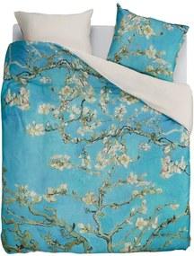 Beddinghouse Almond Blossom katoensatijn dekbedovertrekset - inclusief kussenslopen